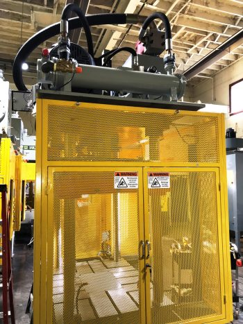 35 Ton Hydraulic Press FRECH - 06