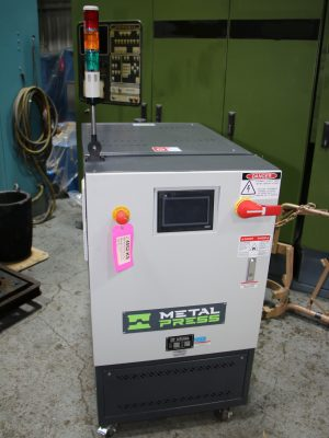 THC-D-24 Hot Oil Temperature Control Unit at Hitachi Automotive System Mexico - 03
