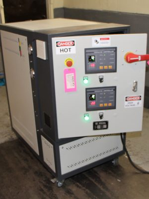 THC-D-24 Hot Oil Temperature Control Unit at Mag-Tec Casting Corp - 03